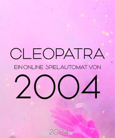cleopatra spielautomat 2004